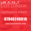 Appliances repair in London
