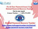 Fix All Your Password Issues Using Hotmail Password Recovery