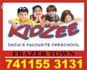 Kidzee Frazer Town | 7411553131 | Pulkeshi Nagar | 1119 |