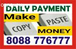 Tips to Work from Home job   earn daily   Daily payment job